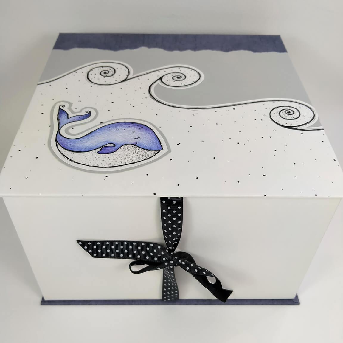 Àlbum+caixa Benvingut nadó Marc