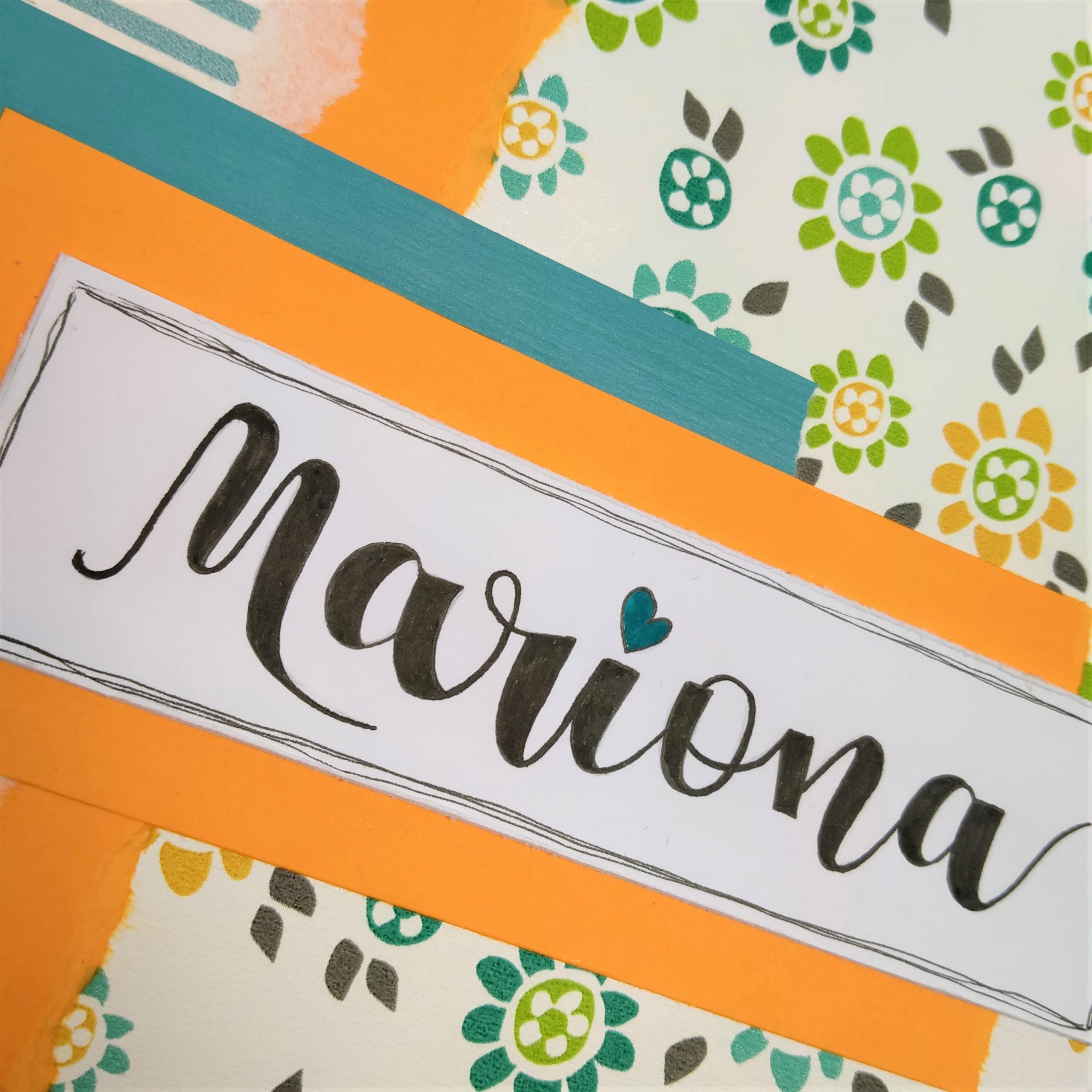 Àlbum record Primera Comunió Mariona